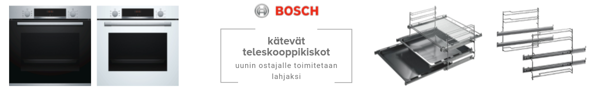 Boschin kätevät teleskooppikiskot