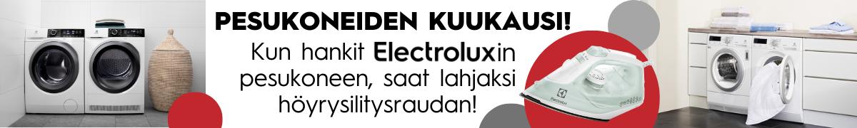 Lahjana Electrolux  silitysrauta