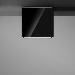 Falmec LAGUNA.W60BL, musta lasi, seinämalli, Liesituulettimet, Seinälle kiinnitettävä 60cm