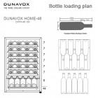 Dunavox DXFH48130, Kodinkoneet, Kylmälaitteet, Viinikaapit