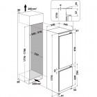Hotpoint HAC18T542, Integroitavat kodinkoneet , Integroitavat kylmälaitteet, Integroitavat jääkaappipakastimet