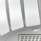 Falmec PRESTIGE.WWH, Liesituulettimet, Design liesikuvut seinälle